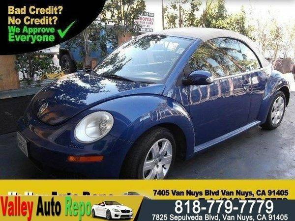 2007 *Volkswagen* *New* *Beetle* -GET *PRE-APPROVED* TODAY! 1000...