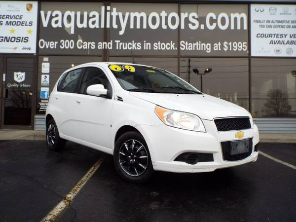 2009 CHEVROLET AVEO BUY HERE PAY HERE 0.0% INTEREST 995.00 DOWN