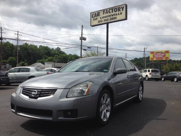2007 Nissan Maxima SE Leather Moonroof 123k miles