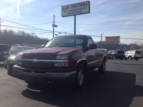 2004 Chevrolet Silverado LS Reg Cab 5.3 V8 Long Bed
