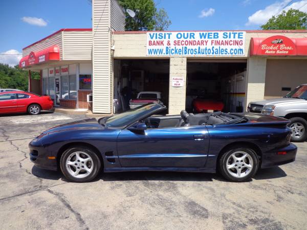 ** 1998 PONTIAC TRANS AM CONVERTIBLE ** ONLY 64k MILES * TRADES ***