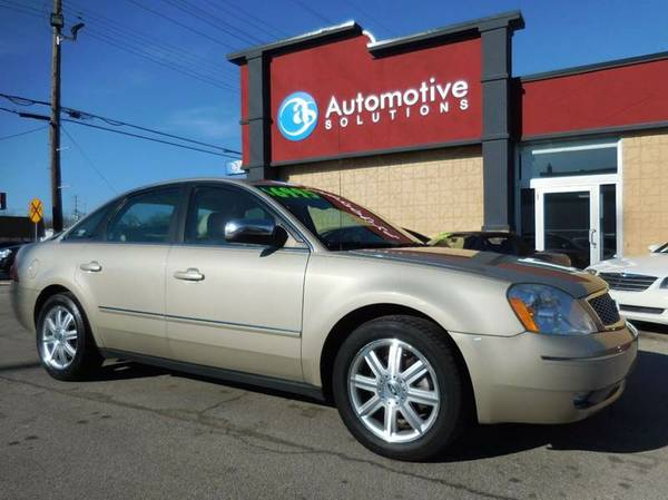 _____ 2005 FORD FIVE HUNDRED _______ LIMITED -- LIKE NEW -- WOW --