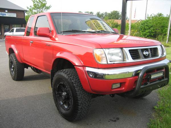 1999 NISSAN FRONTIER 4X4 EXTENDED CAB PICKUP TRUCK LOADED WITH EXTRAS