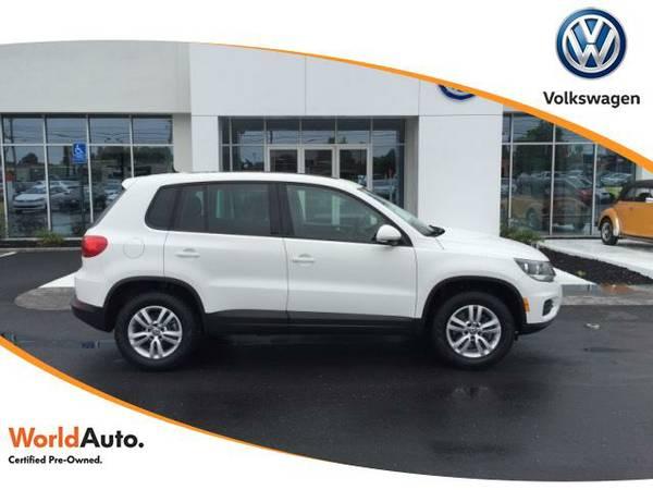 Certified: 2013 Volkswagen Tiguan Sport Utility 2WD 4dr Auto SE
