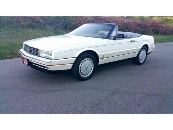 1991 Cadillac Allante - Pearl White Diamond, 1-OWNER, LIKE BRAND NEW o