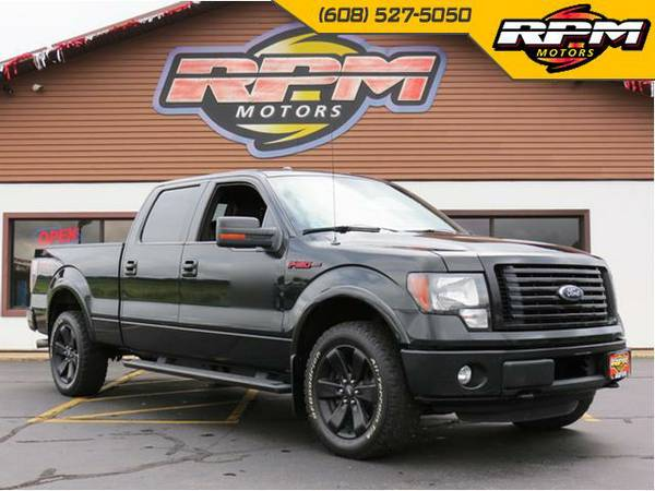 2012 Ford F-150 FX4 Super Crew - Appearance Package - Loaded