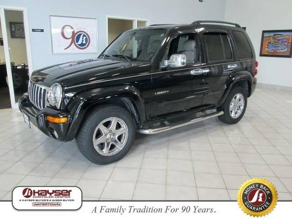 2004 Jeep Liberty Limited SUV Liberty Jeep