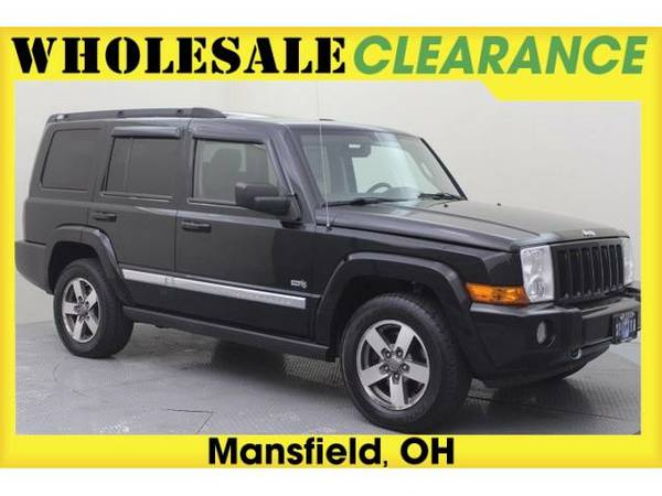 2006 *Jeep Commander* Base - 14498MAX - (Black Clearcoat)