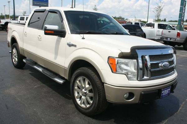 2009 Ford F150-King Ranch, 4WD, Nav, Camera, Crew Cab