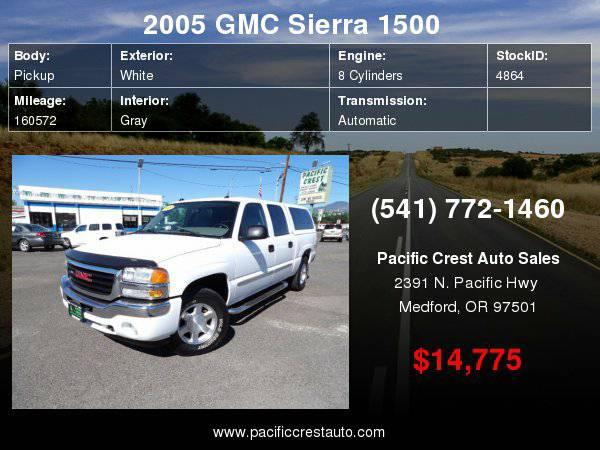 2005 GMC Sierra 1500 Crew Cab 4WD SLT