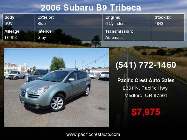 2006 Subaru B9 Tribeca AWD LIMITED