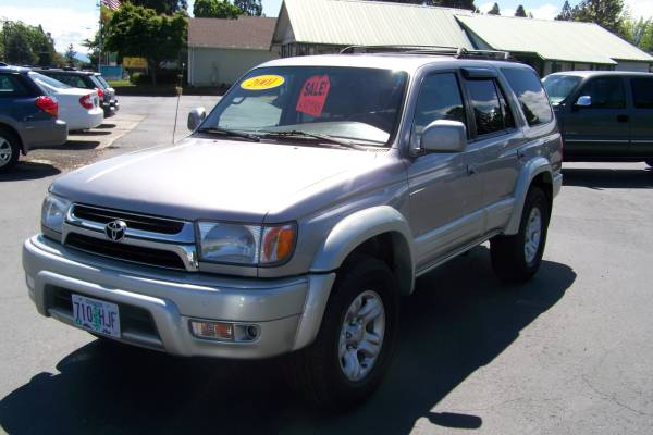 2001 Toyota 4 Runner Limited (Only 104,xxx Miles)