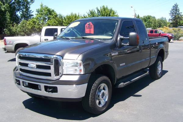 2006 Ford F250 Super Cab Turbo Diesel Four Wheel Drive