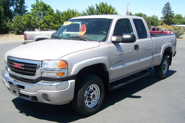 2005 GMC Sierra 2500HD Extended Cab 90 DAY WARRANTY! (4WD/SLE)