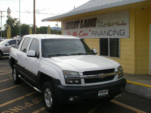 CHEVROLET AVALANCHE Z66 - HOME OF YES WE CAN FINANCING
