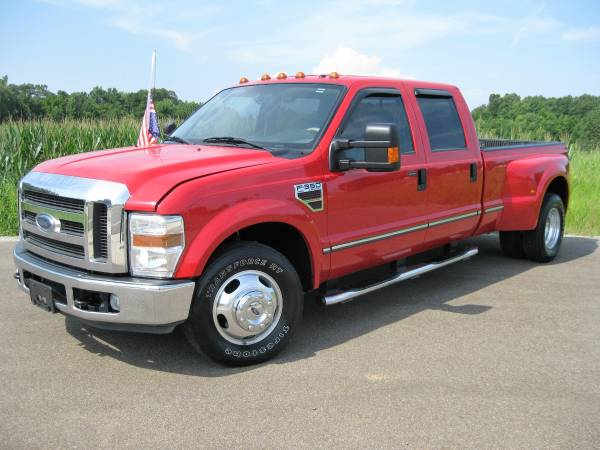 2008 FORD F350 LARIAT DUALLY CREW CAB 2WD**BANK FINANCING AVAILABLE**