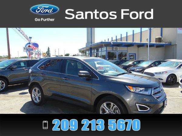 2015 Ford Edge Gray