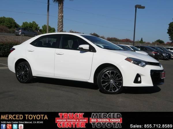 2014 *Toyota Corolla* Sedan S Plus *New Arrival! Certified Bluetooth