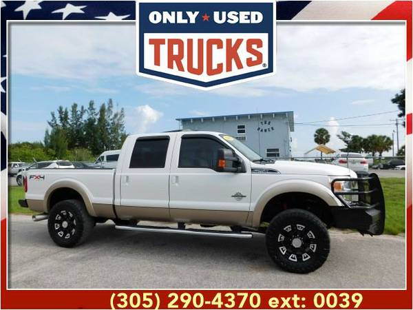 2011 *Ford* *F250* *F-250*F 250* Lariat 4x4 Super Duty (8cyl, 6.7L,...
