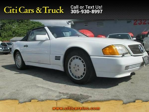 1992 Mercedes-Benz 300 Series 300SL Roadster 300 Series Mercedes-Benz