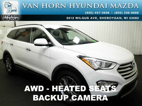 2015 *Hyundai Santa Fe* GLS AWD - White BAD CREDIT OK!