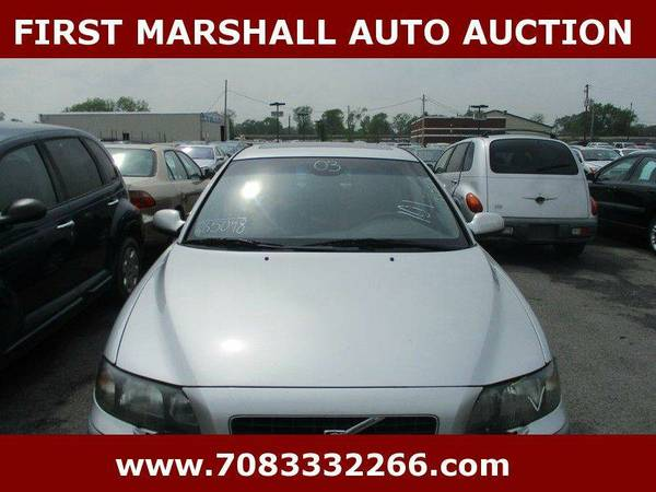 2003 Volvo S60 2.5T AWD 4dr Turbo Sedan - First Marshall Auto Auction