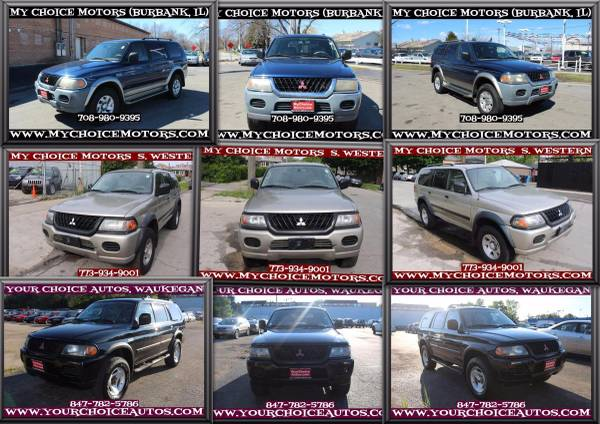2000-2001-2002 MITSUBISHI MONTERO SPORT V6 4WD SUV CD ALLOY TOW PKAG