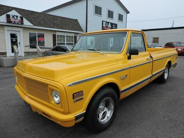 1972 CHEVROLET CHEYENNE 10 *FULLY RESTORED*