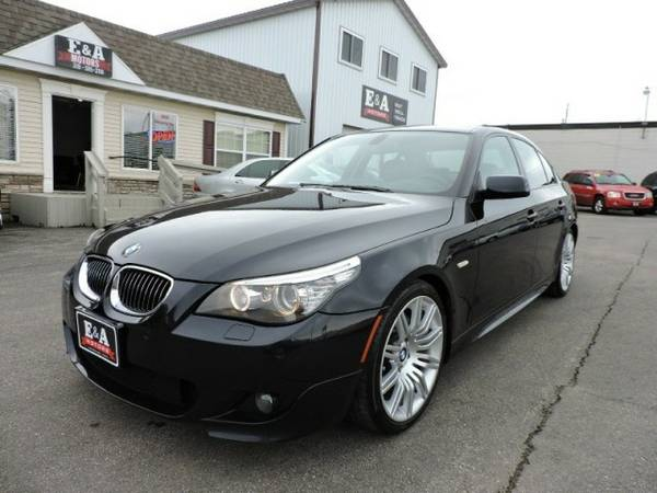 2008 BMW 5 Series 4dr Sdn 550i RWD SPORT PACKAGE