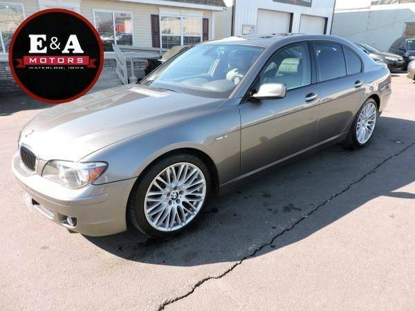 2007 BMW 7 Series 4dr Sdn 750i