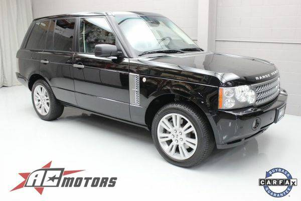2009 *Land* *Rover* *Range* *Rover* Supercharged
