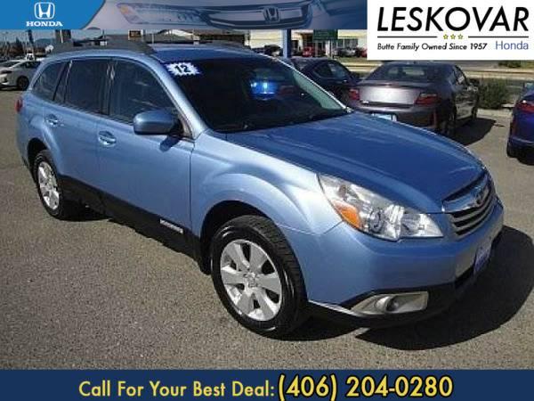 *2012* *Subaru Outback* *Station Wagon 2.5i Prem* *Blue*