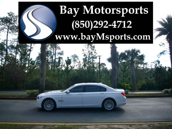2009 BMW 750Li Sedan -F02 LCI Tech/Premium/Convenience/Luxury Seating