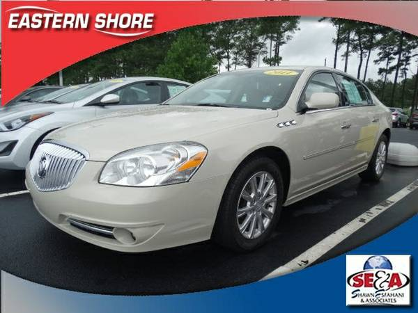 Stock GA505516A 2011 Buick Lucerne 4D Sedan