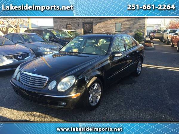 2005 Mercedes-Benz E-Class E320 CDI Black Tan Leather Diesel