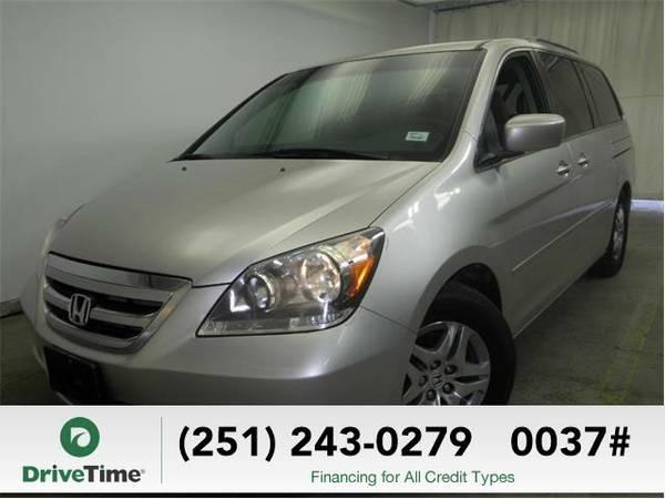 Beautiful 2007 *Honda Odyssey* EX (SILVER) - Clean Title