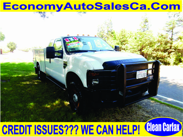 2009 Ford F350 Super Duty Super Cab & Chassis 162 W.B. 4D**4WD**