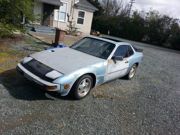 1977 porsche 924 parts car
