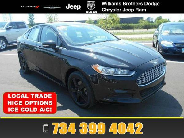 *2014* *Ford Fusion* *Black*