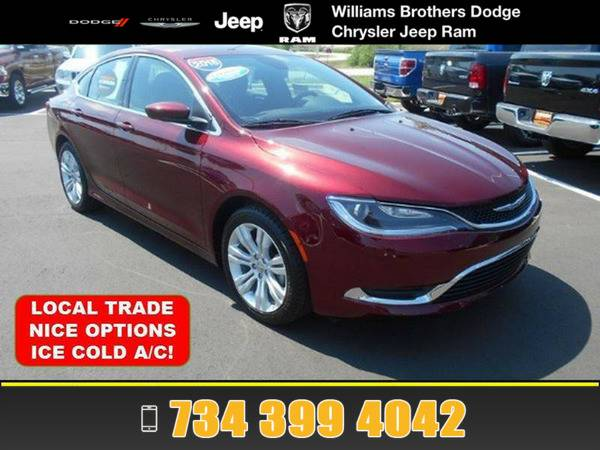 *2015* *Chrysler 200* *Red Velvet*