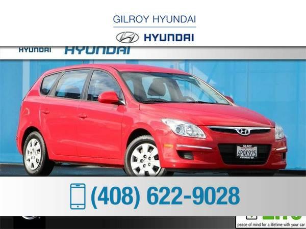 *2011* *Hyundai Elantra Touring* *GLS* *Red*
