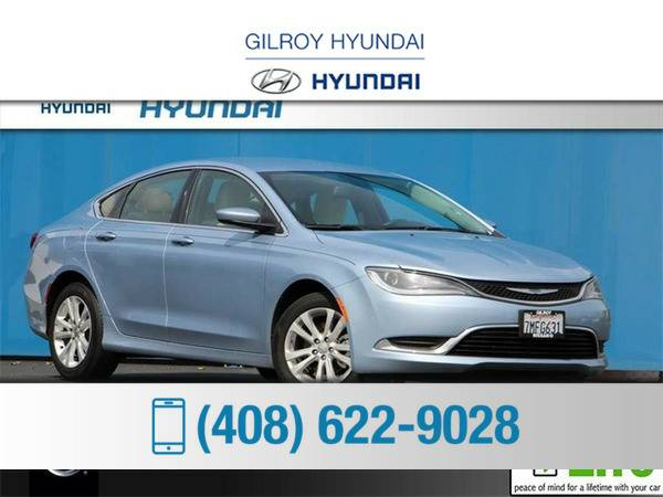 *2015* *Chrysler 200* *Limited* *Blue*