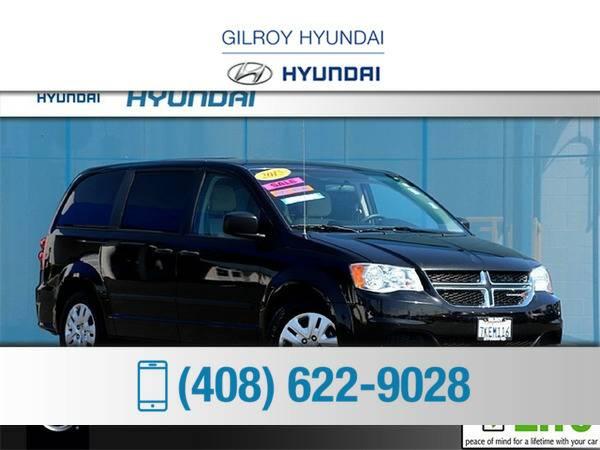 *2015* *Dodge Grand Caravan* ** *Black*