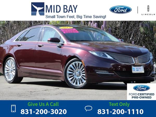 2013 *Lincoln* *MKZ* *Base* 26k miles