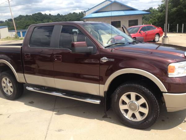 2008 FORD F150 KING RANCH CREW LIFTED 4X4CHEVROLET,TOYOTA,DODGE