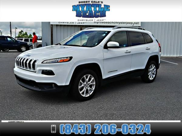 2015 Jeep Cherokee Latitude Bright White Clearcoat