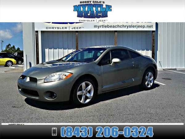 2008 Mitsubishi Eclipse GS Optimist Green Pearl
