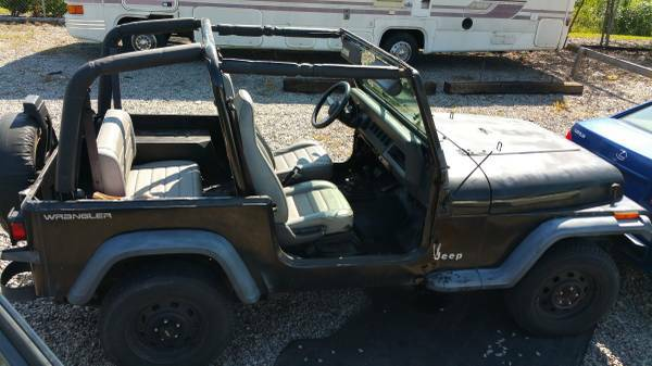 1995 Jeep Wrangler Project