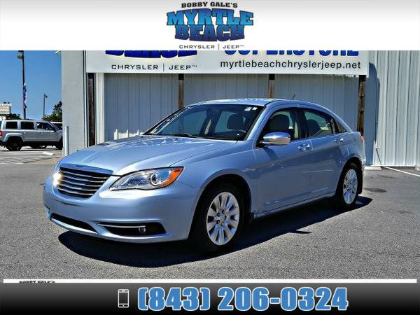 2014 Chrysler 200 Limited True Blue Pearlcoat