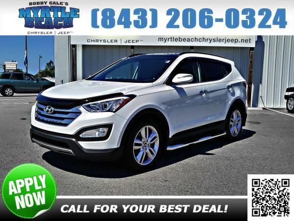 2014 Hyundai Santa Fe Sport 2.0L Turbo Frost White Pearl